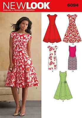 Simplicity New Look Sewing Pattern Dresses 6094