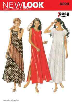 Simplicity New Look Sewing Pattern Dresses 6229