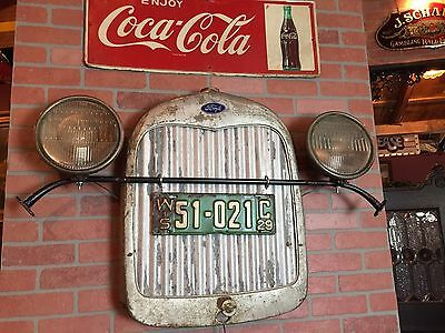 "Vintage FORD with WI Plates Retail Automotive  Wall Art Display ""Watch Video"""