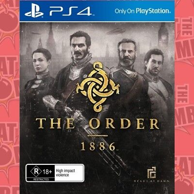 The Order 1886  - PlayStation 4 game - BRAND NEW