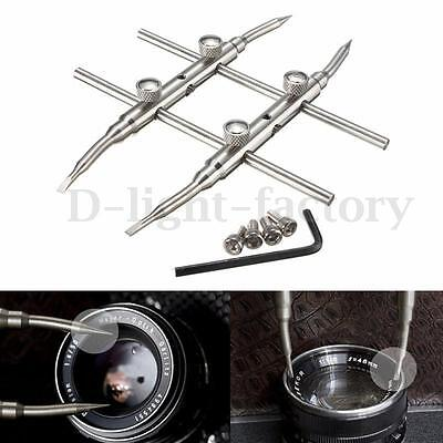 Spanner Camera Lens Repair Kits Stainless Steel Open Tools for DSLR New