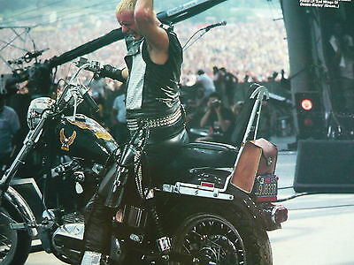 Judas Priest - Magazine Cutting (Full Page Photo) (Ref Jc2)