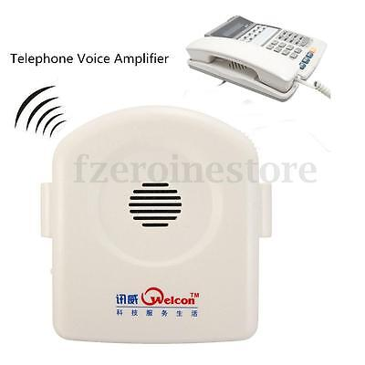 Telephone Amplifier Phone Voice For Deaf Hard Of Hearing Aid With Strap