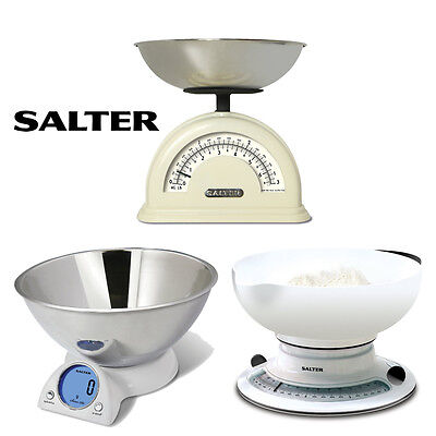 Salter  Mixing Bowl Add & Weigh Digital Mechanical  kitchen Scale