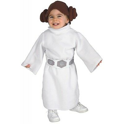 Princess Leia Costume Baby Star Wars Halloween Fancy Dress