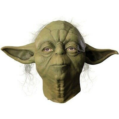 Deluxe Yoda Mask Jedi Master Costume Accessory Adult Star Wars Halloween