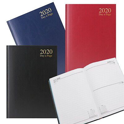 2017 2018 A5 Academic Week to View Diary Spiral PVC Cover Mid Year 3899