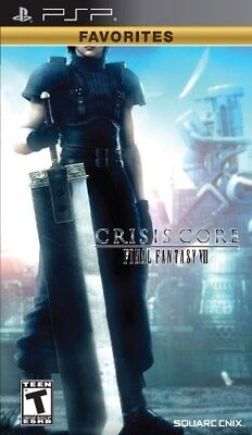 Sony Psp Game Crisis Core Final Fantasy Vii Brand New