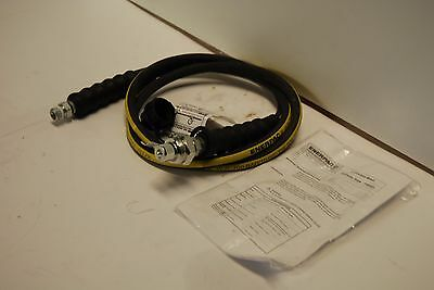 ENERPAC Hc-9206 HOSE W/CH604 COUPLER RATED AT 10000 PSI 1/4 ID NEW