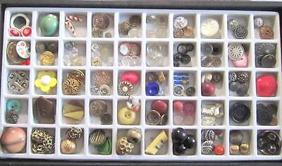 Fab Vintage & Antique Lot Of 138 Beautiful Assorted Very Unique Buttons*a320