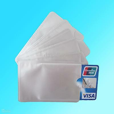 3 Pack Of Rfid Sleeves To Protect Bank Card Wireless Pay/Signal Blocker. Safety