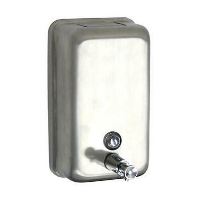 Soap Dispenser Stainless Steel Vertical 1200mL Bathroom Washroom Hand Wash