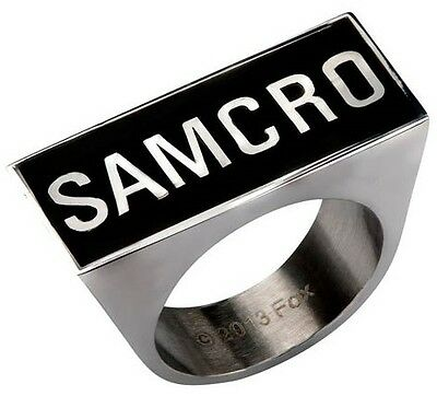 Sons of Anarchy SAMCRO Logo Ring (Size 6)