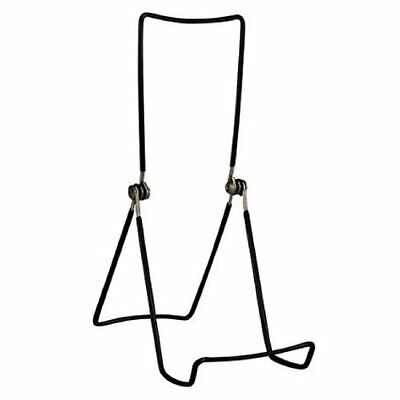 Gibson Holders Book and Painting Three Wire Display Stand, Set of 2, Black (AOI)