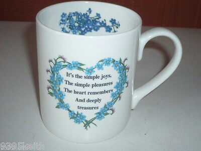 ALZHEIMERS HEART OF FORGET ME NOT,s MUGS  SOLD IN AID OF CHARITY