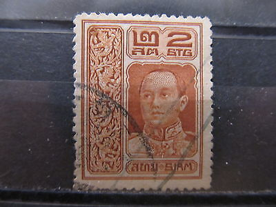 A1P16 THAILAND 1912 2s USED