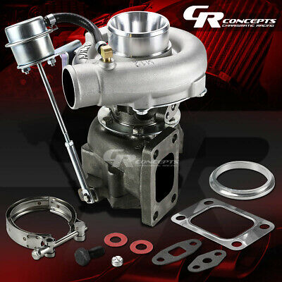 T04E T04 T3/t4 .63 A/r V-Band 350+Hp Stage Iii Turbine Turbo Charger+Wastegate