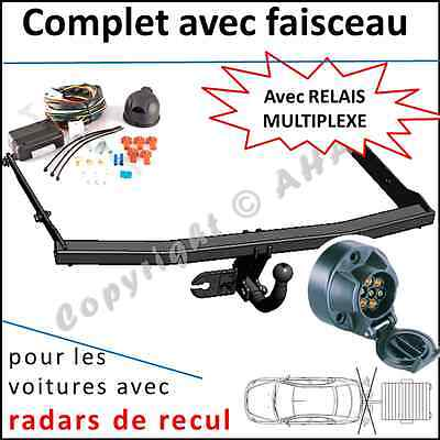 ATTELAGE fixe FORD FOCUS C-MAX 2003-2008+FAISC.UNIV.7 broches COMPLET