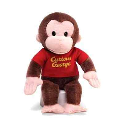 "Gund Stuffed Animals 12"" Monkey Curious George Soft Toy Plush Cuddle Kids Baby"