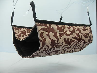 Giant Double Bunkbed Hammock Damask small animal toy bed ferret gerbil