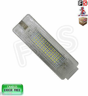 Seat Boot Trunk Luggage Compartment Lights Led White Canbus Error Free