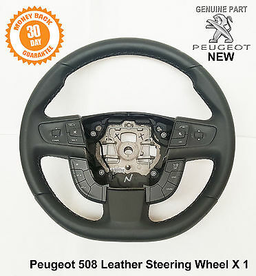 Peugeot 508 Steering Wheel Leather grip radio cruise controls 96780478ZE New