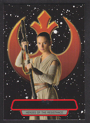 Topps Star Wars - The Force Awakens Series 2 - Heroes of the Resistance # 4
