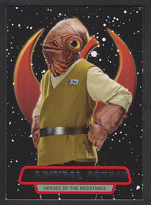 Topps Star Wars - The Force Awakens Series 2 - Heroes of the Resistance # 7