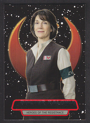 Topps Star Wars - The Force Awakens Series 2 - Heroes of the Resistance # 9