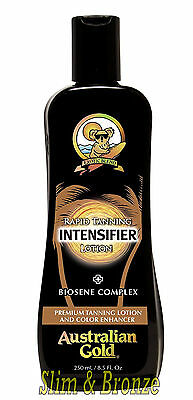 Australian Gold RAPID TANNING INTENSIFIER LOTION Biosene Complex - Fast Dispatch