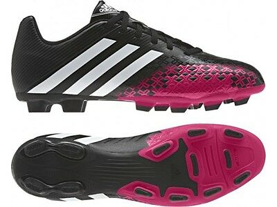Adidas Mens Predito FG Black Lightweight Moulded Studs Football Boots Size 6-11