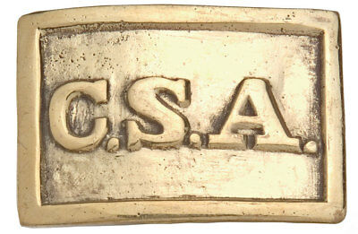 Replica Civil War Belt Buckle
