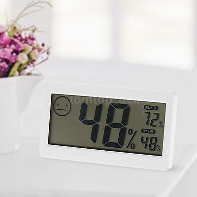 DC206 3.3in Large Indoor LCD Digital Thermo-Hygrometer Temp Moisture Meter V3I1