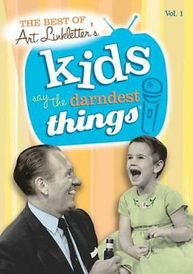 The Best Of Art Linkletter's Kids Say The Darndest Things New Dvd