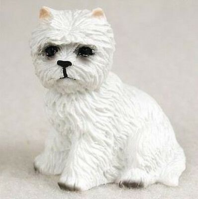 WESTIE  TINY ONES DOG Figurine Statue Resin Pet Lovers Gift