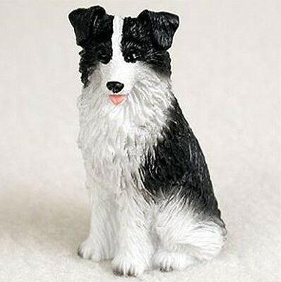 BORDER COLLIE TINY ONES DOG Figurine Statue Resin Pet Lovers Gift