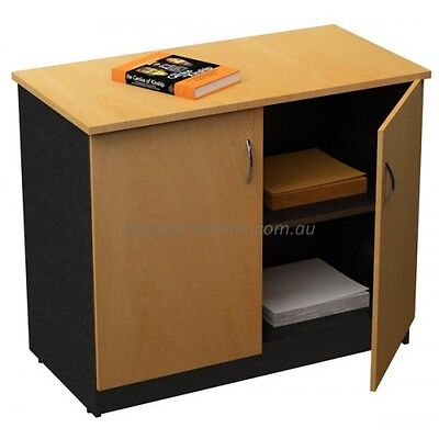 Office Cupboard Storage Cupboards Stationery Credenza Shelves Lockable Doors