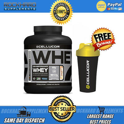 Cellucor Cor Whey Performance + Free Cellucor Shaker 4.01Lbs 4Lb