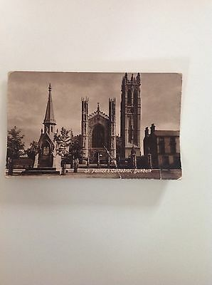 Dundalk St Patrick's Cathedral Antique Postcard Valentines Original Old Unposted