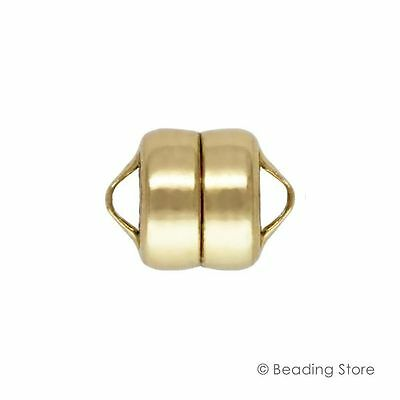 1 or 10 14ct Yellow Gold Filled 7.5mm x 6mm Magnetic Clasp Clasps Findings 14/20