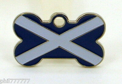 The Saltire ~ National Flag of Scotland ~ Small pet id tags