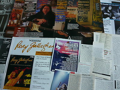 Rory Gallagher - Cuttings Pack (Ref X2)