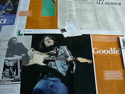 Rory Gallagher - Cuttings Pack (Ref X4)