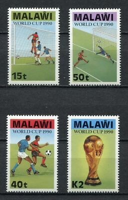 s6410) MALAWI 1990 MNH** WC Football'90 - CM Calcio 4v