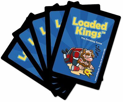 Loaded Kings - The Drinking Card Game Waterproof Playing Cards