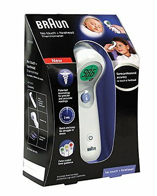 Braun NTF3000 No Touch + Forehead Thermometer - Infant Children & Adult