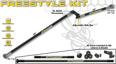 Bee Stinger Free Style Kit New  Blackout with New Carrying Tube