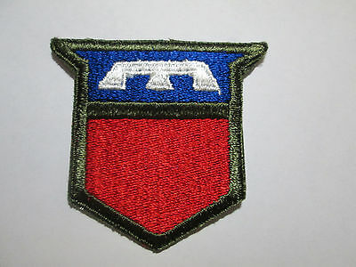 Us Army Wwii Ww2 76Th Infantry Division Ssi Color Shoulder Patch Cut Edge