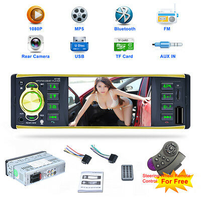 "7"" HD 2DIN Car Stereo MP3 MP5 Media Player Bluetooth Handfree FM Transmitter USB"