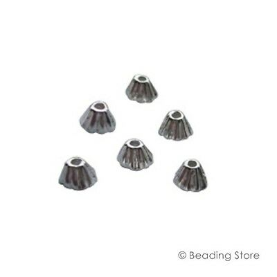 Various 925 Sterling Silver 3mm Cone Style Bead Caps Cap 0.9mm Hole Findings
